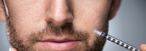تکمیل درمان جوانسازی صورت با تزریق بوتاکس